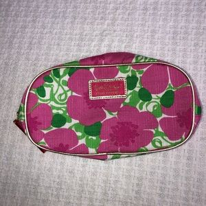 Estee Lauder Lilly Pulitzer Cosmetic Makeup Bag
